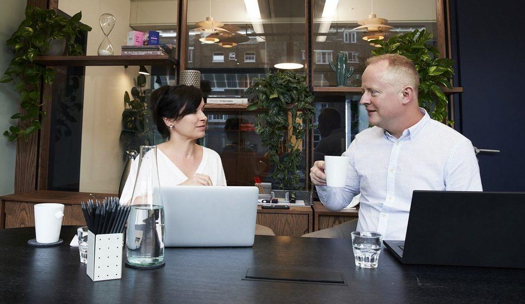 Small Business Website Design Meeting